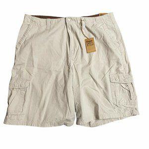 Paper Denim & Cloth Shorts Size 42 Mens Cargo Khak